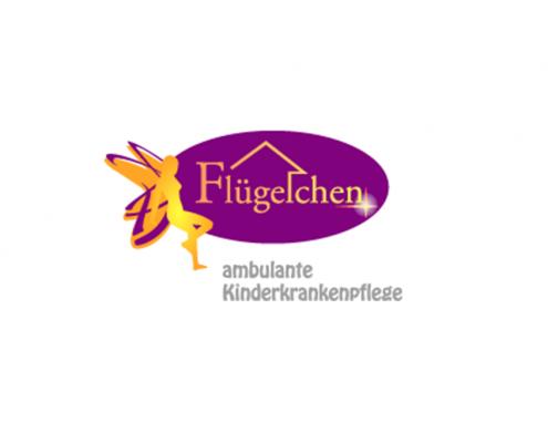 Logo Kinderintensivpflegedienst Flügelchen Christine Thom-Forde